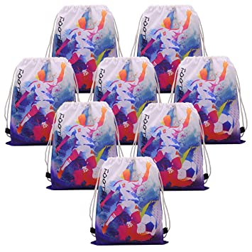 Amazon.com: Babofarm - Bolsa de fútbol con cordón y bolsa de ...