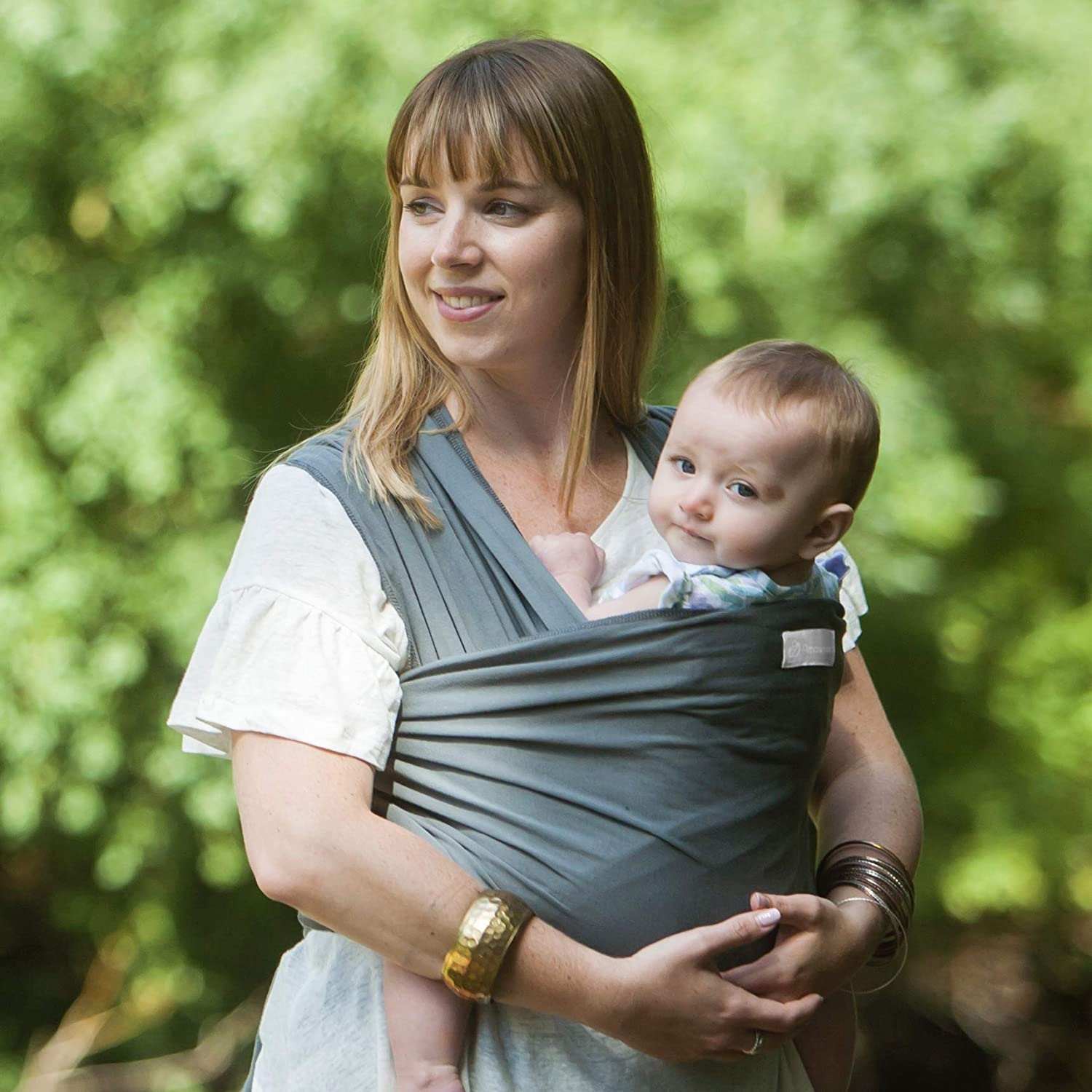 Ethically Made in The UK and Safety Tested Amawrap Baby Sling Wrap Carrier G - Orchid Purple Various Colours Hip Healthy
