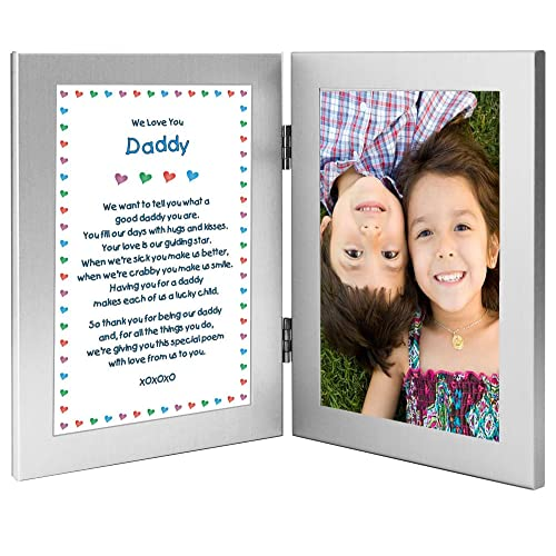 Poetry Gifts Daddy Gift From Twins Or Children For His Birthday Christmas Add