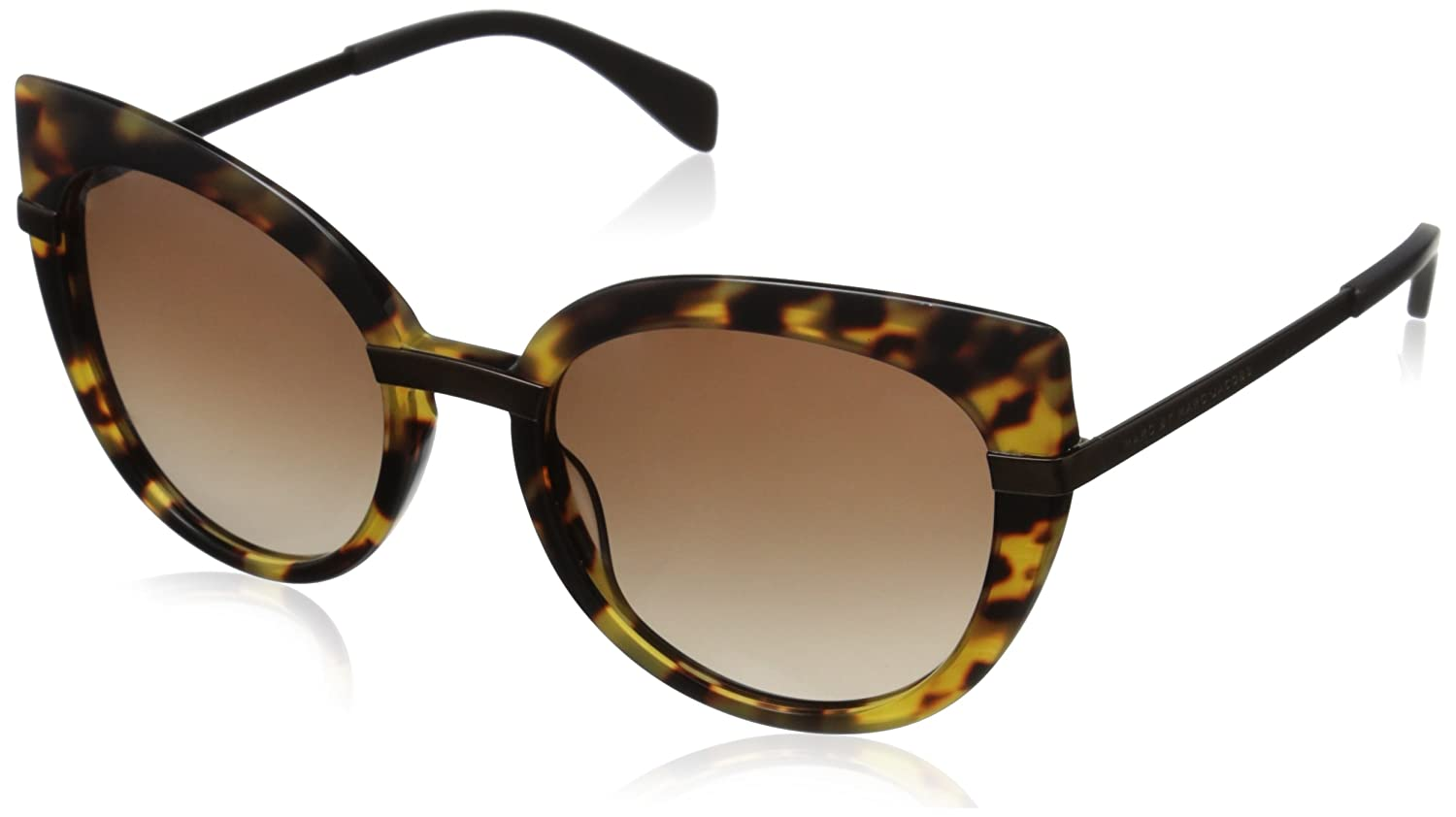Marc by Marc Jacobs Sonnenbrille Mmj 489/S Jd Spotted Havana Brow, 54