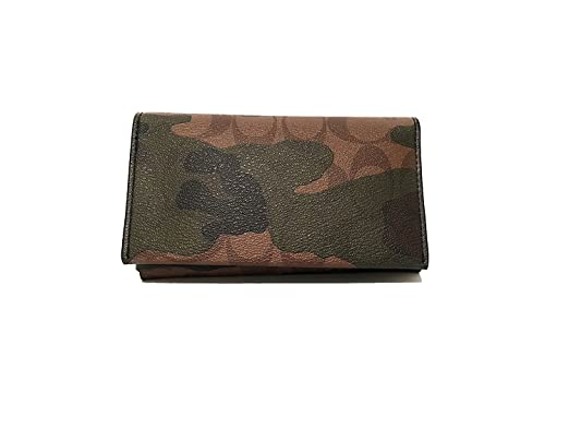 buy online 733a5 eadfc Coach Men's Camo Leather Phone Case