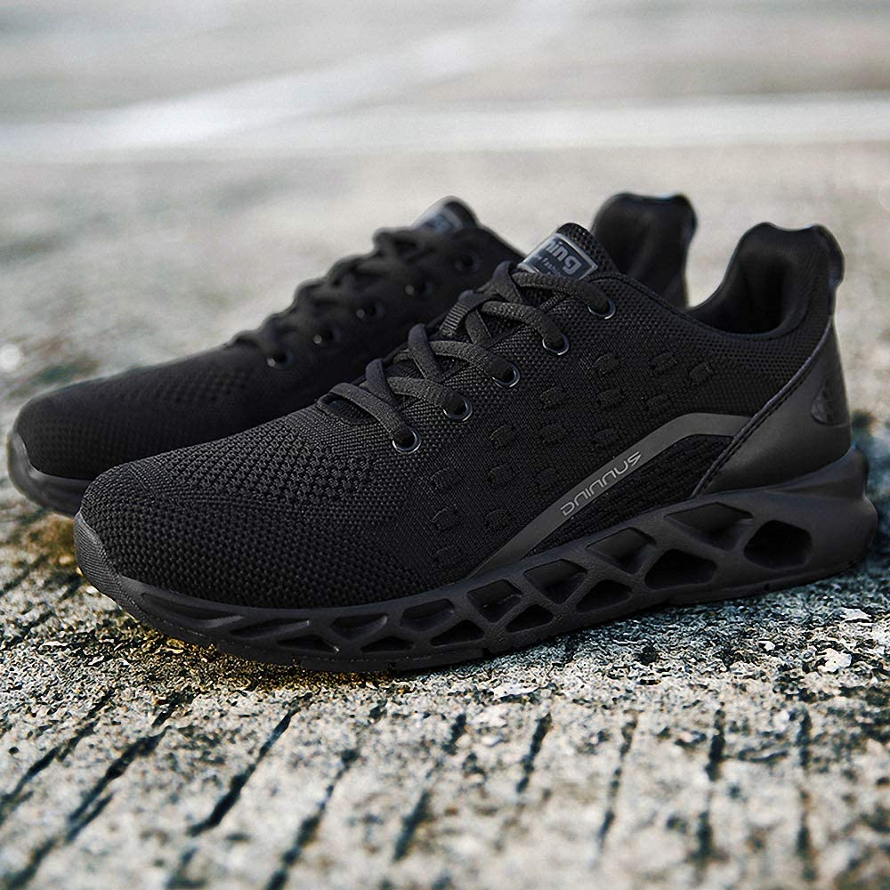 New Men Running Shoes Sports Trainers Air Cushion Shock Absorbing Casual Walking Gym Jogging Fitness Athletic Sneakers