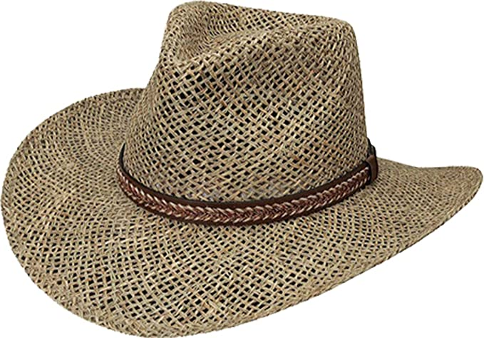 Black Creek Men s Seagrass Straw Hat - Bc9006 at Amazon Men s ... f6ad40d5d199