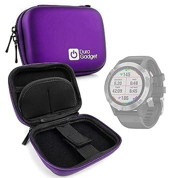 DURAGADGET Estuche Rígido Compatible con Smartwatch Garmin ...