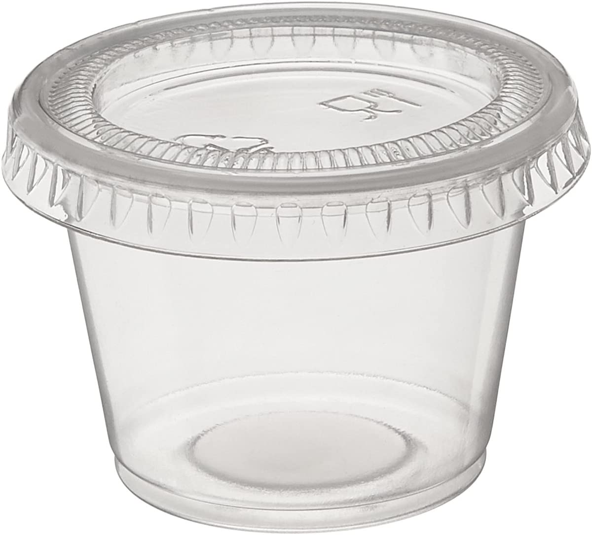 160 Small Plastic SHOT CUPS...... clear 1 oz cups