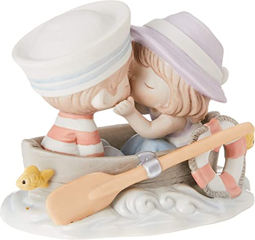 Precious Moments 162002 You re The Only Fish In My Sea, Bisque Porcelain Figurine