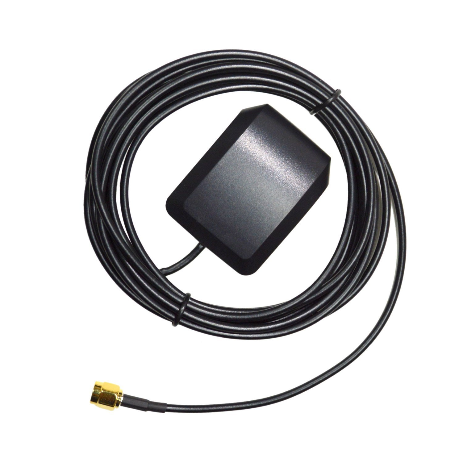 HQRP SMA Extension External GPS Antenna for Navman Tracker 5110 / 5380 / 5430 / 5500 / 5505 / 5600 / 5605 Antenna Replacement + HQRP UV Meter 884667806101509
