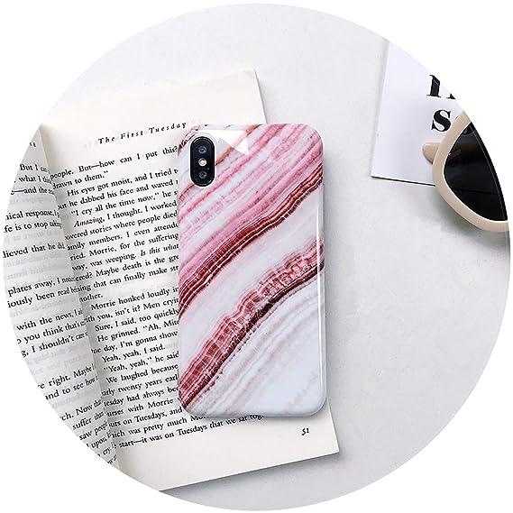 Amazon.com: Little-Kiwi Luxury Marble Phone Case for iPhone ...