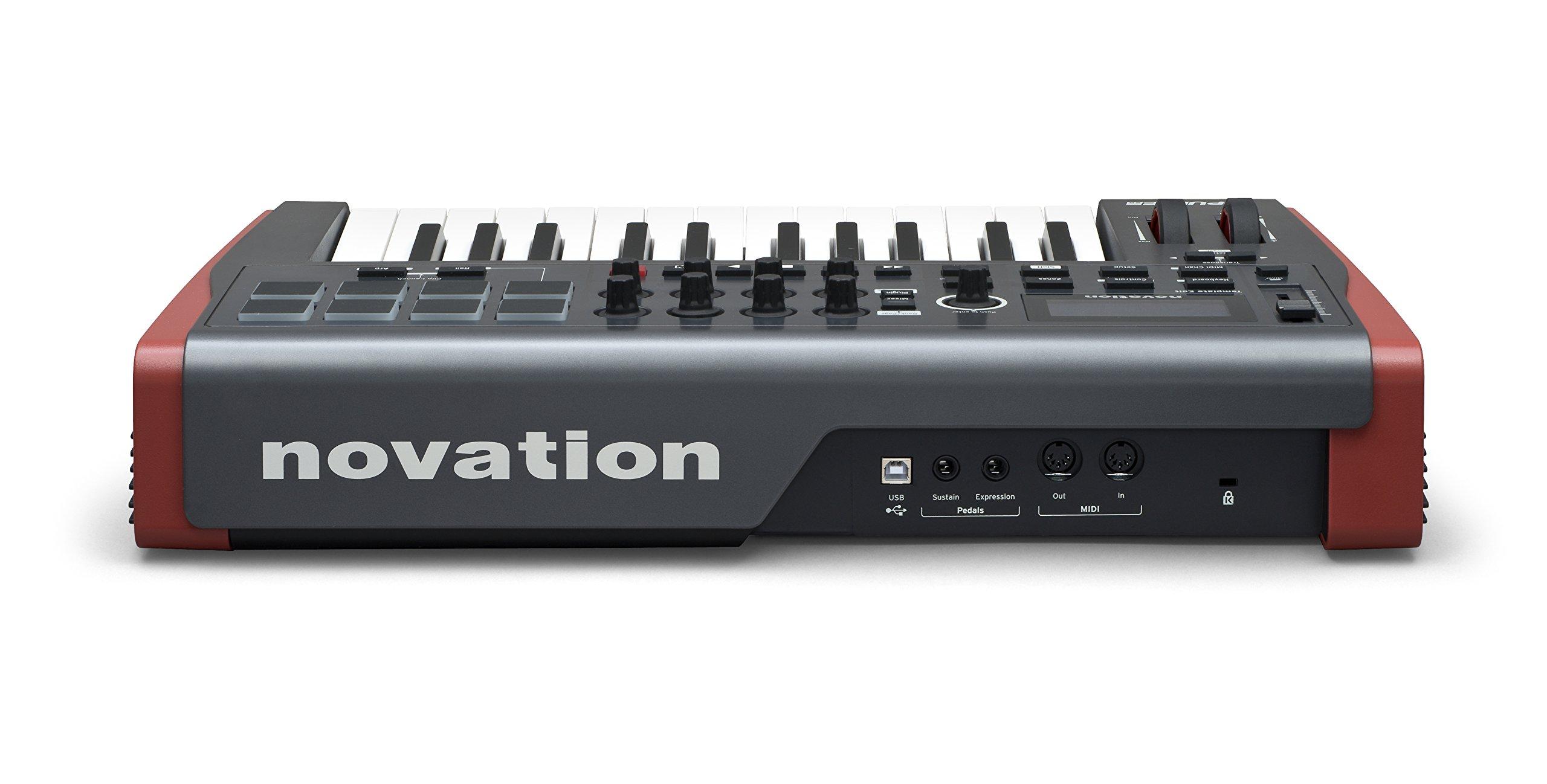 Novation Impulse 25 USB Midi Controller Keyboard, 25 Keys by Novation (Image #2)
