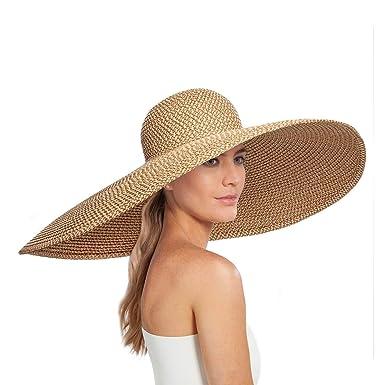 Amazon.com  Eric Javits Luxury Women s Designer Headwear Hat - Giant ... 761beedec91