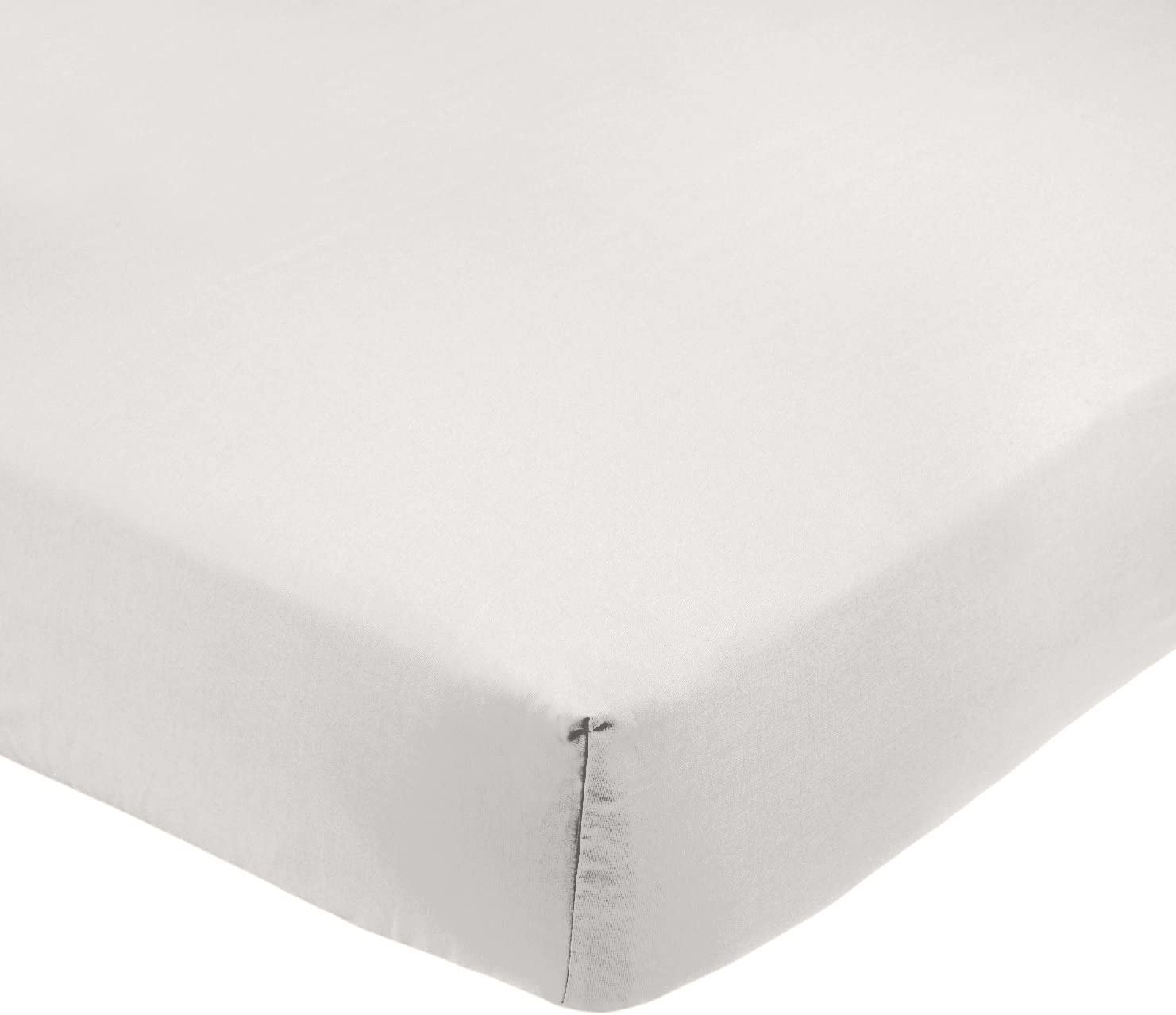 AmazonBasics - Sábana bajera ajustable (polialgodón 200 hilos ...