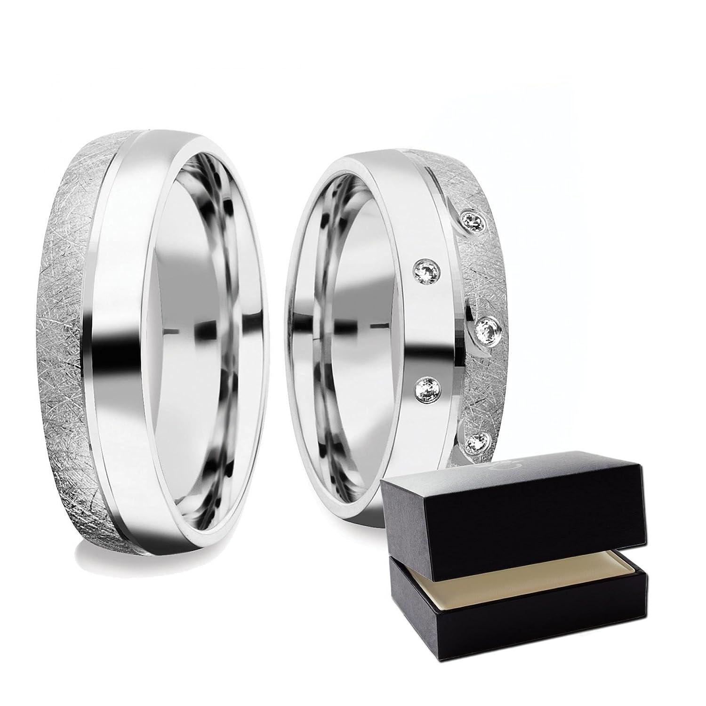 Eheringe Verlobungsringe Paar Trauringe Freundschaftsringe Silber