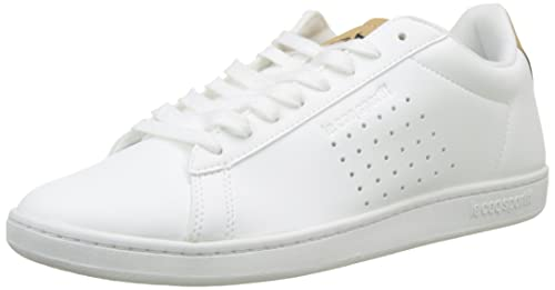 Le Coq Sportif Courtset Sport Optical White/Croissant, Zapatillas para Hombre: Amazon.es: Zapatos y complementos
