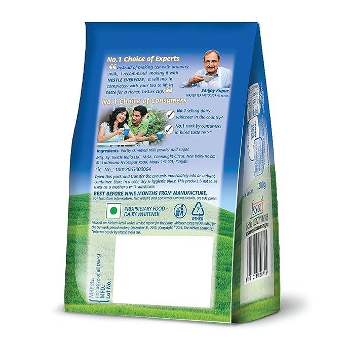 Nestle Everyday Milk Powder, 200g Pouch (200 GM): Amazon in: Grocery