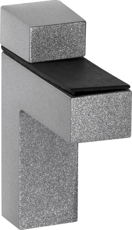 IB-Style - Wandregal - - - Glasregal   54 Variationen   900 x 300 x 10 mm satiniert + Halterungen Quadro Verchromt e06142