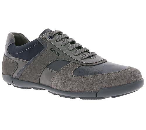 f615ea87a65a7 Geox Uomo Sneakers Grigie U823BB Scarpe Primavera Estate 2018 ...