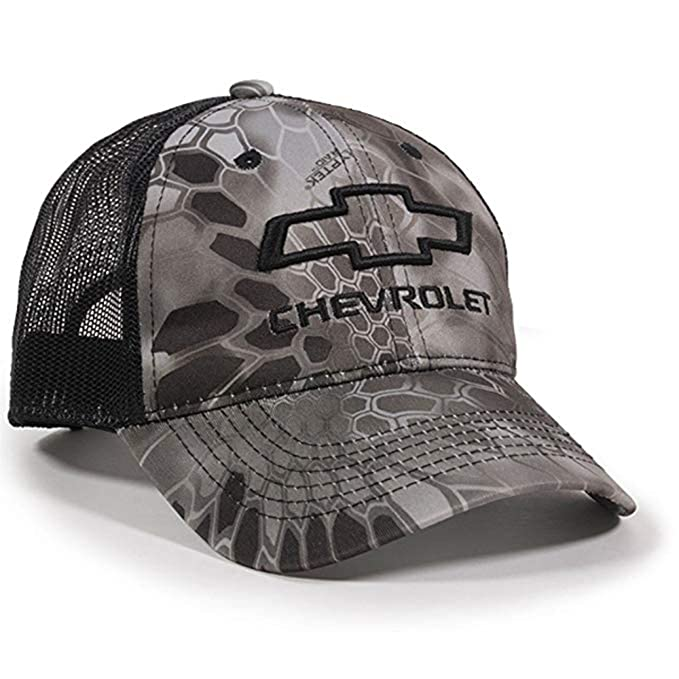 eb47c53471b Image Unavailable. Image not available for. Color  Corvette Central Chevy  Kryptek Raid Mesh Back Camo Cap Hat