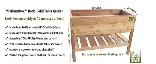 Amazon.com : Waist High Table Garden : Raised Garden Kits : Patio, Lawn &  Garden