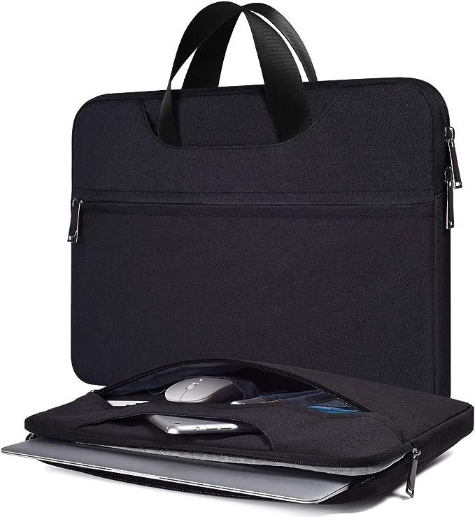 Color : Black, Size : 42832cm RVXHC Man Laptop Bag Large Laptop Briefcase Business Office Bag Laptop Briefcase Carry On Handle Case for Computer 16 Inch Laptop Business Briefcase