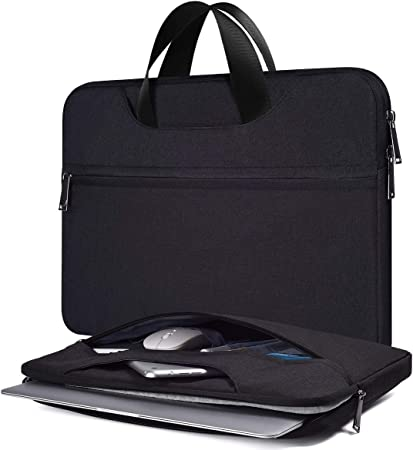 Surface Dell Asus HP Chromebook Carrying Case Samsung Chromebook 11.6 Black Lenovo Chromebook C330 11.6-12.3 Inch Waterproof Laptop Briefcase Men Women Bag with Handle for Acer R11 Chromebook
