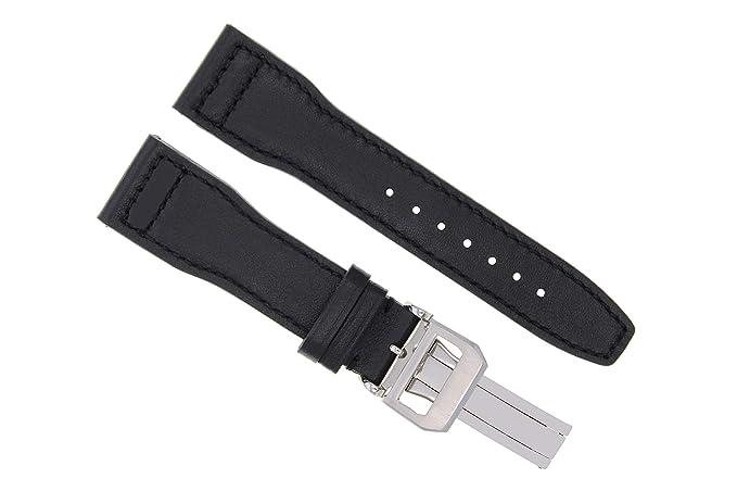 Cinturino per orologio da polso in pelle, 21 mm, per IWC