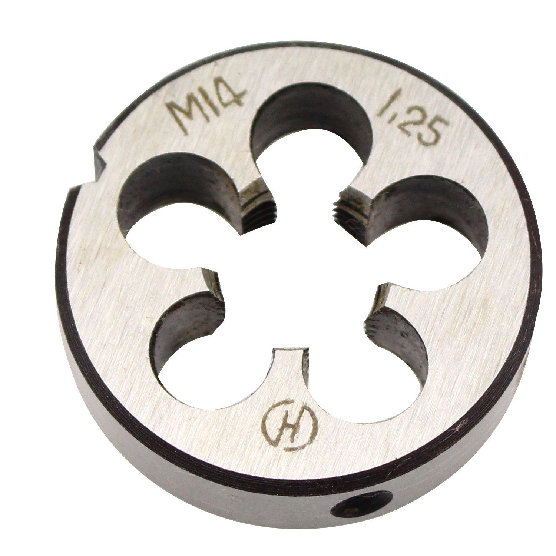Hex Die Special Thread 14mm x 1.25mm Metric Carbon Steel