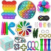 Sensory Fidget Toy Set, Anti-Stress Fidget Toy Set, Stress Relieve Toy Set for Kids Adults