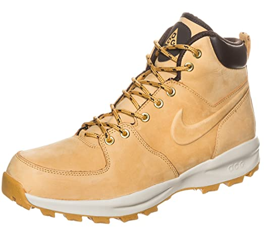 Nike Manoa Leather Men Winter Autumn Shoes New Haystack - 12