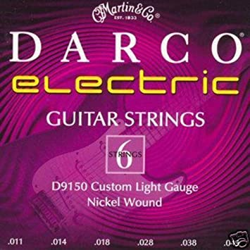 Martin D9150 - Juego de cuerdas para guitarra eléctrica de níquel.011-0.049: Amazon.es: Instrumentos musicales