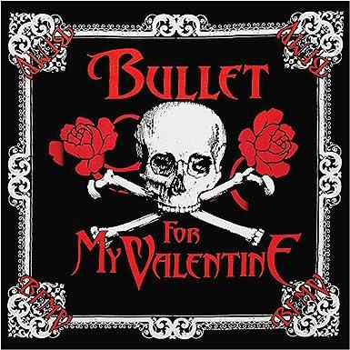 Amazon Com Bullet For My Valentine Skull Bandana Black Clothing