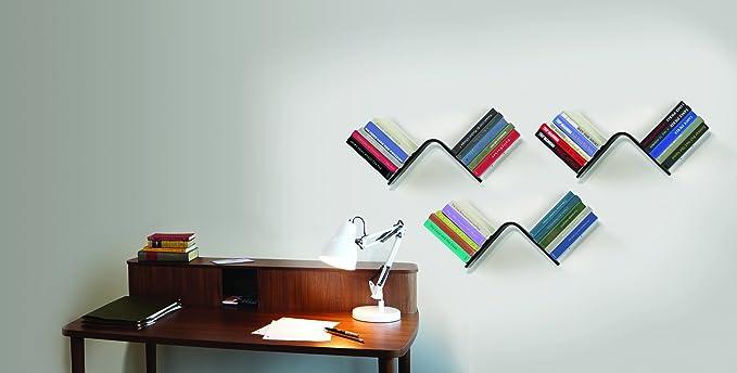 Conceal Boekenplank Umbra : Amazon.com: umbra conceal l shaped floating bookshelf white: home