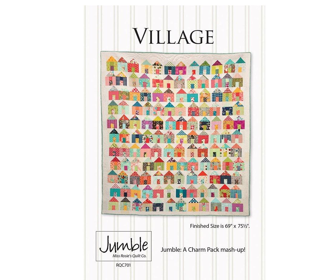 Jumble Village Pattern Miss Rosie's Quilt Co RQC701