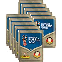 Panini WM Russia 2018 Lot DE 10 sachets de Stickers