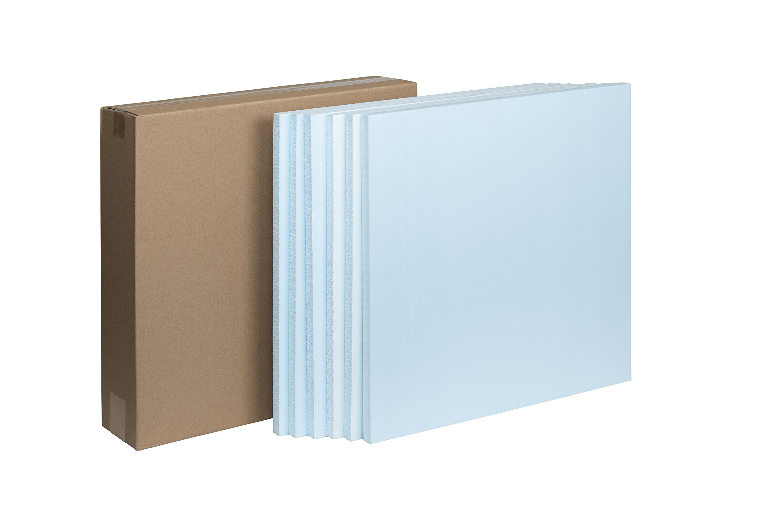 STYROFOAM 99106444 2x2 Project Panels (Pack of 6), Blue