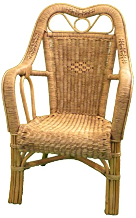 Merveilleux Image Unavailable. Image Not Available For. Colour: High Back Wicker Chair