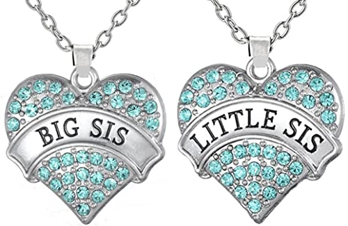 Amazon easter gifts big sis lil sis heart necklace set easter gifts big sis lil sis heart necklace set gift for big little sisters negle Choice Image