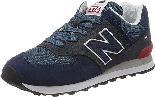 New Balance Herren 574v2 Sneaker, rot