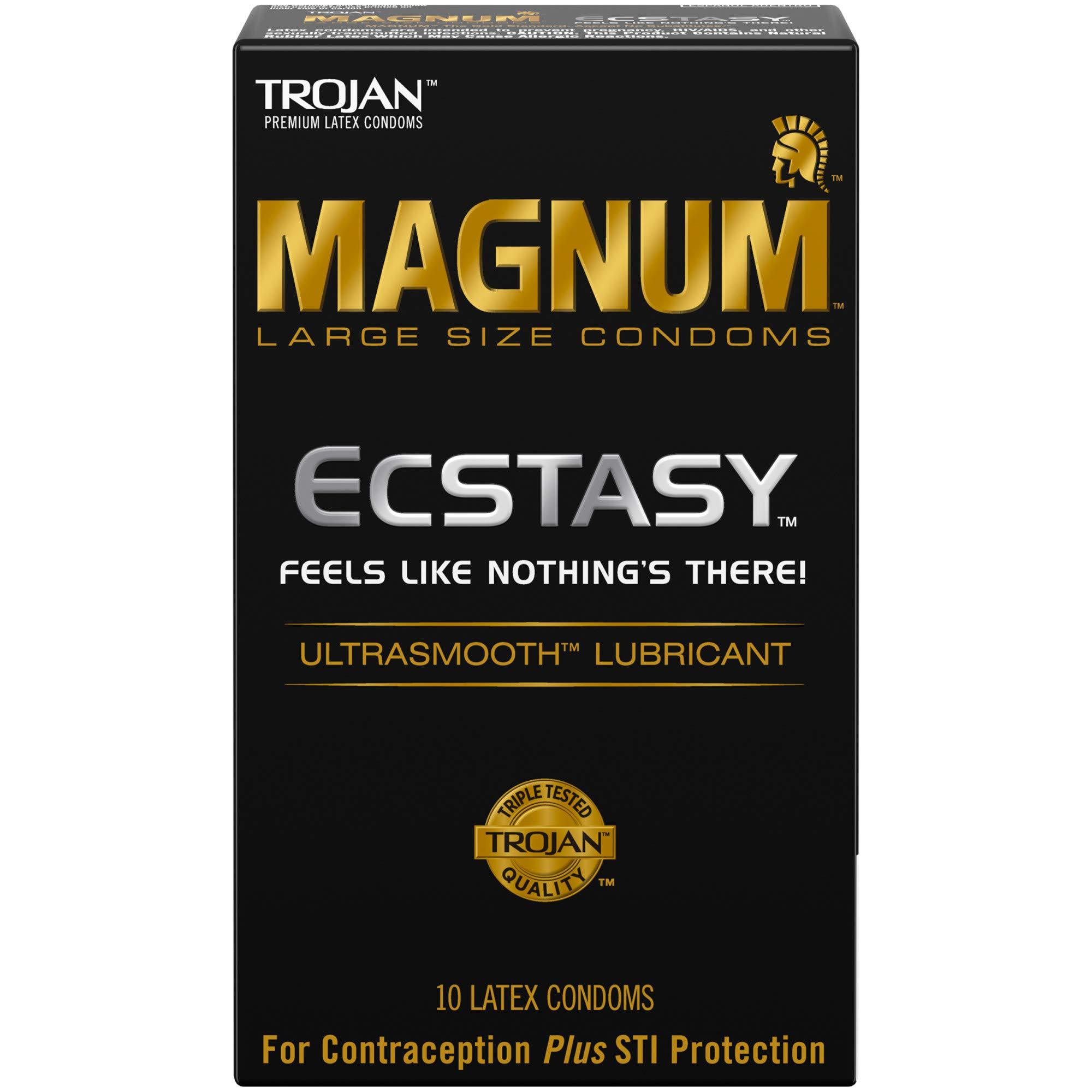 Trojan Magnum Ecstasy Ultrasmooth Lubricant