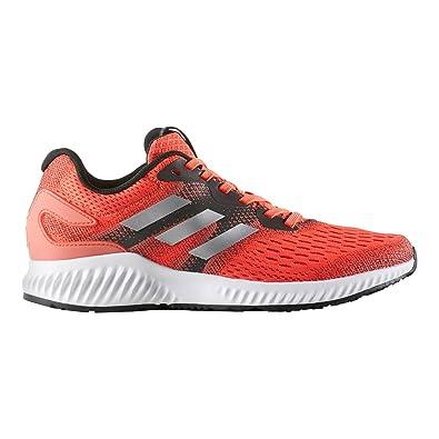 big sale e7870 8c3dd adidas Aerobounce W, Chaussures de Running Femme,  Multicolore-Orange Argent Rouge