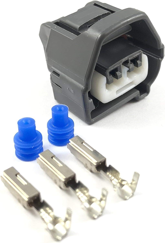 Cam Crank Position Angle Sensor Connector Plug Pigtail For Toyota supra 1JZ 2JZ