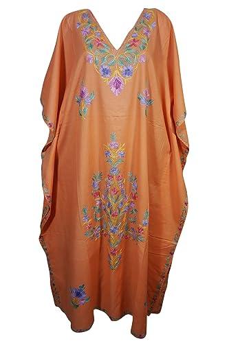 Mogul Interior -  Vestito  - Kimono - Donna Orange-1