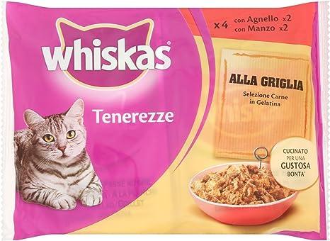 Whiskas tenerezze, Comida para Gatos, selección Carne de gelatina ...
