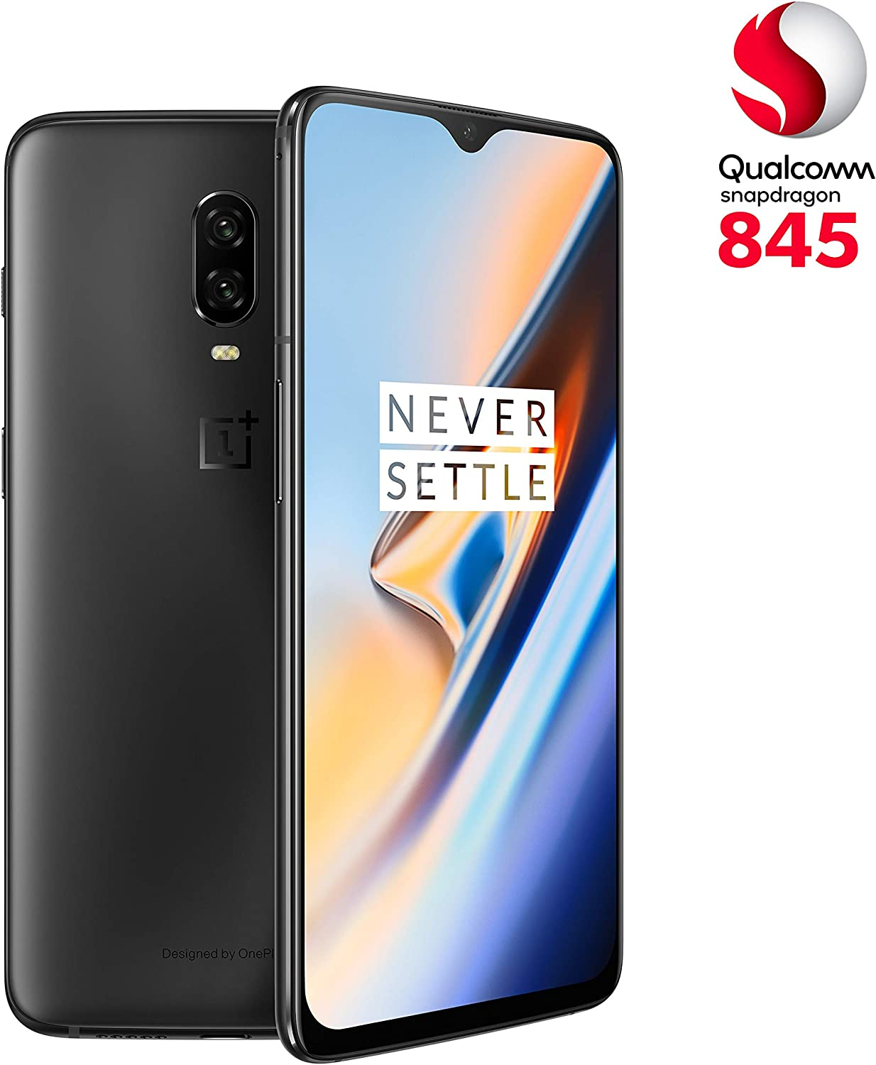 OnePlus 6T - Smartphone 8GB+256GB, Color Negro (Midnight Black ...