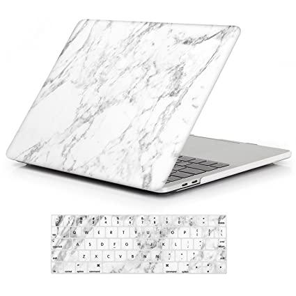 save off 936d3 7c38d iCasso MacBook Pro 13 Case 2018 2017 2016 Release A1989/A1706/A1708,Rubber  Coated Shell Cover & Keyboard Cover Compatible Newest Mac Pro 13