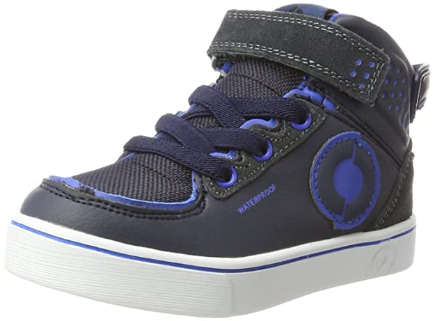 FOOTI Temple Warm, Zapatillas Altas Unisex Niños, Azul (Navy/Blue 535), 28 EU