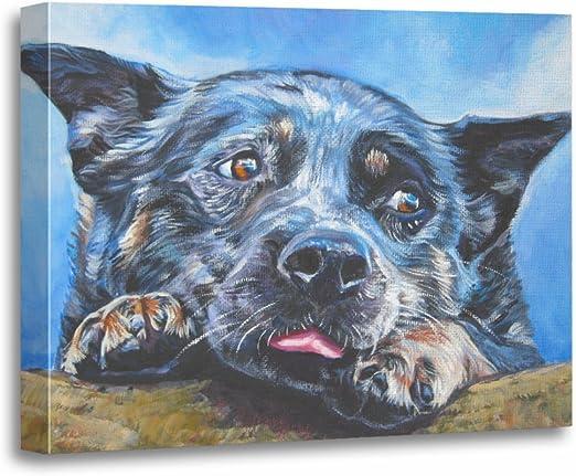 """18/"""" BLUE HEALER Street Sign Australian Cattle Dog workingIndoor//Outdoor"""