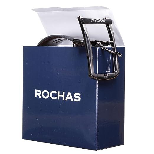 Rochas - Ceinture CRO 14 Reversible Noir Marron - Couleur Noir - Taille  Ajustable  Amazon.fr  Vêtements et accessoires 3a446fa6398