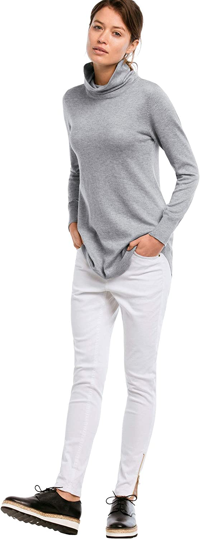 ellos Womens Plus Size Audrey Turtleneck Sweater