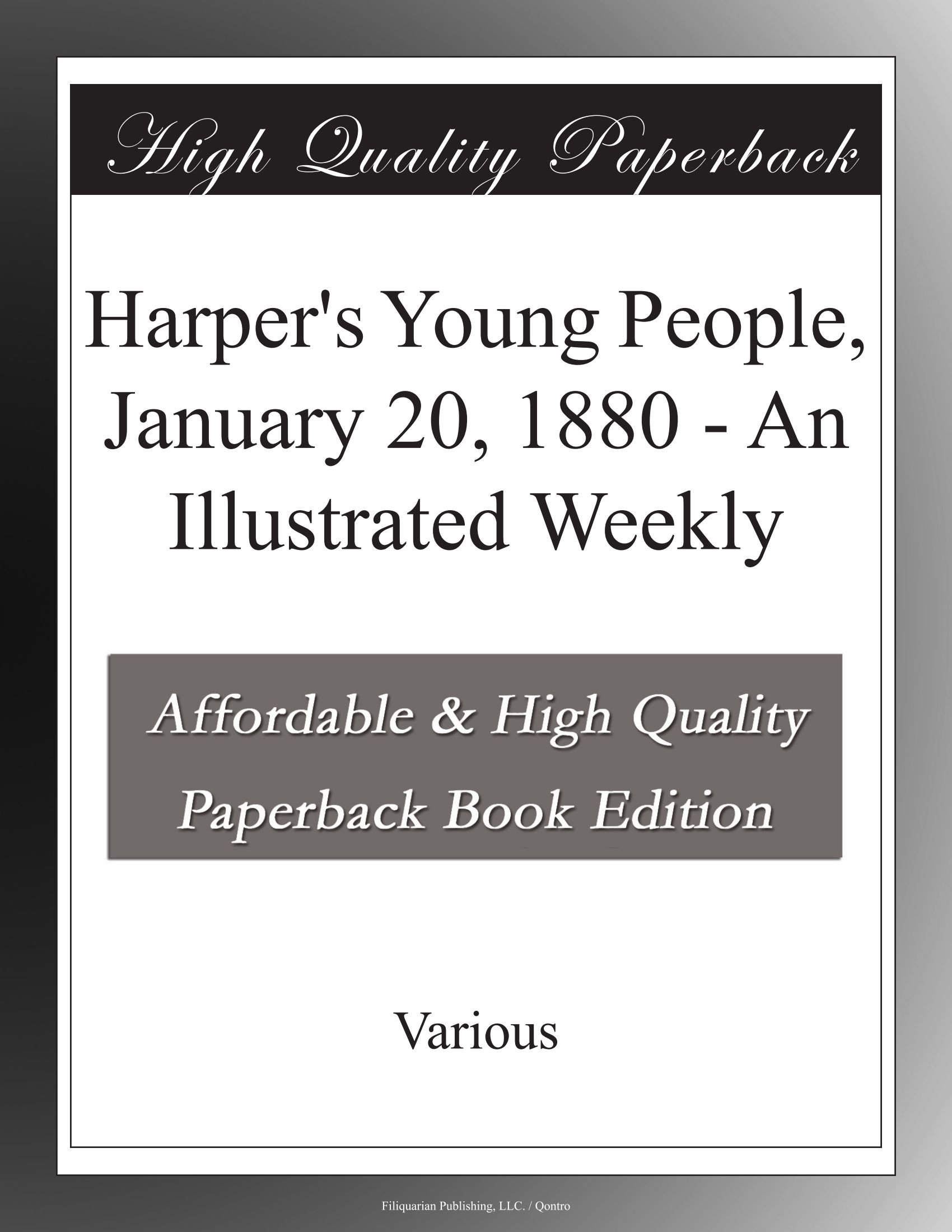 Download Harper's Young People, January 20, 1880 - An Illustrated Weekly pdf epub
