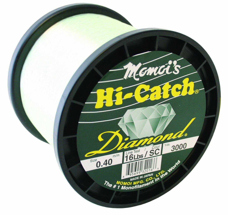 Momoi Hi-Catch Diamond 16-Pound 3000-Yard Special Clear Line, Mono